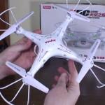 Drone Syma x5C Explorers con telecamera HD: recensione e prezzo Amazon