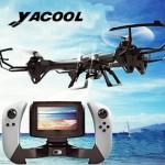 Drone Yacool U818S con Telecamera HD: recensione e offerte Amazon