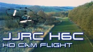 Drone Haibei JJRC H6C con videocamera