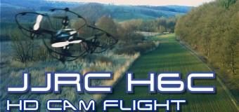 Drone Haibei JJRC H6C con videocamera: offerta Amazon