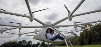 Drone VOLOCOPTER VC200 con pilota a bordo