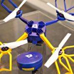 Drone Fotokite Phi con camera GoPro