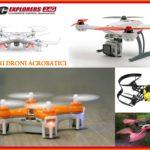 Migliori droni acrobatici