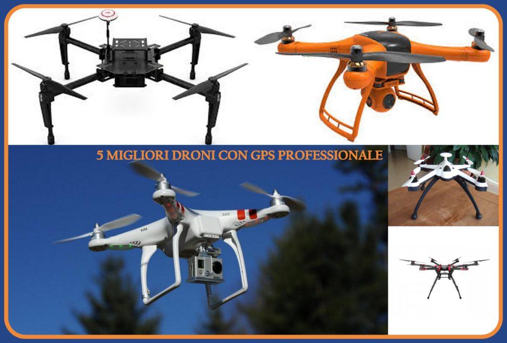 Migliori droni economici con GPS