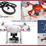 Migliori droni per GoPro: guida all'acquisto