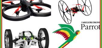 I 3 miglior droni Parrot