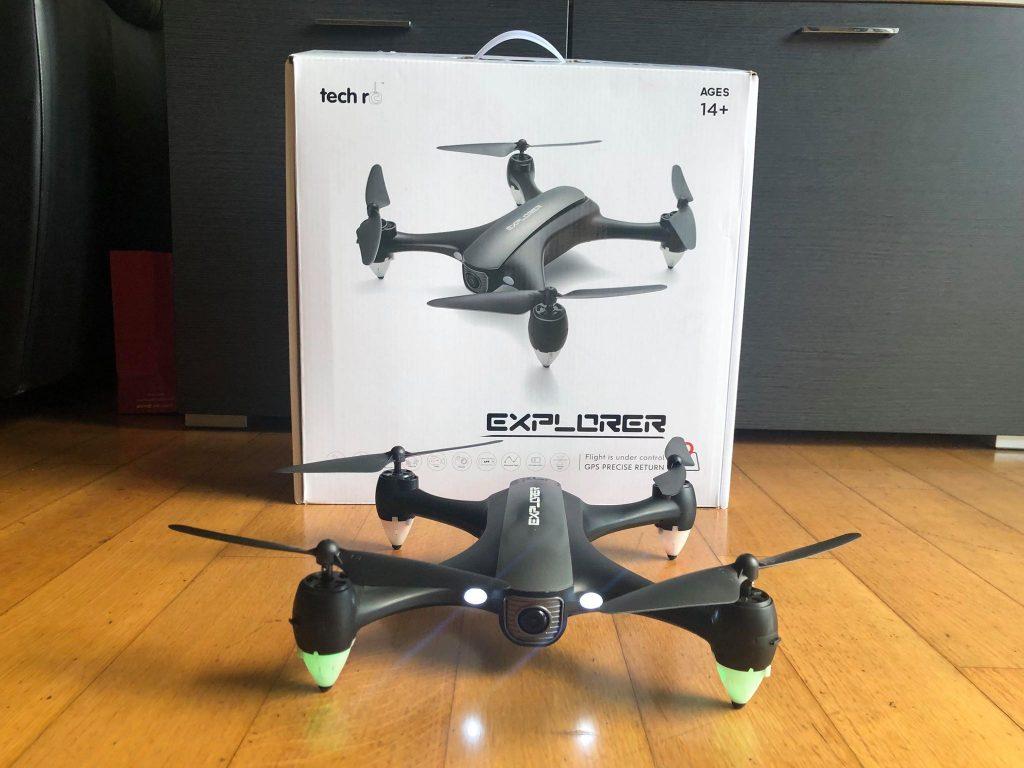 Tech rc Drone GPS Videocamera 1080P