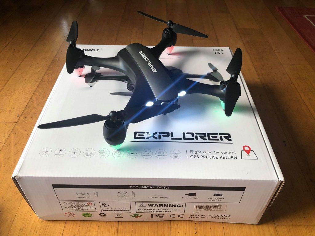 Recensione Tech rc Drone GPS Videocamera 1080P